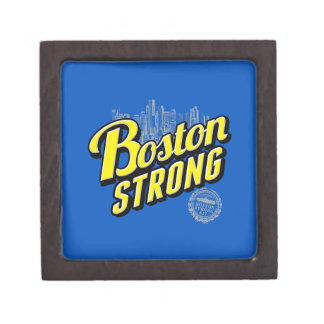 Boston City Strong Remembers on Blue Jewelry Box