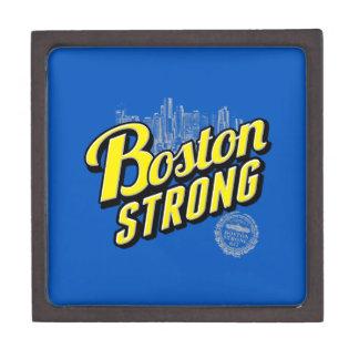 Boston City Strong Remembers on Blue Keepsake Box