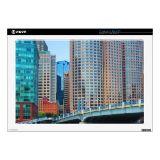 "Boston  city Urban Landcape towers arcchitecture Skin For 17"" Laptop"