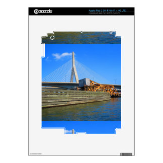 Boston City USA America Bridge view from Bus Tour Skins For iPad 3