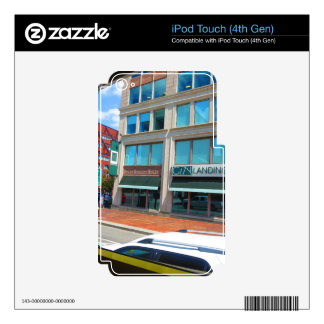 Boston City views through Bus Tour August 2015 iPod Touch 4G Decals