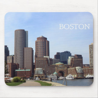 Boston City Waterfront - Mouse Pad