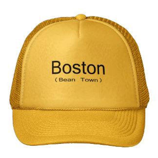 Boston (ciudad de la haba) gorras
