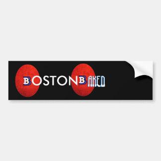 BOSTON COCIÓ BUMPERSTICKER PEGATINA PARA AUTO