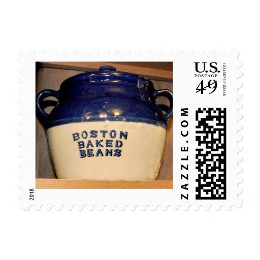 Boston coció habas franqueo
