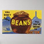 Boston coció habas posters
