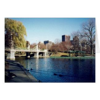 boston common greeting card