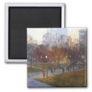 """Boston Common"" Magnet"