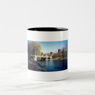 boston common Two-Tone coffee mug