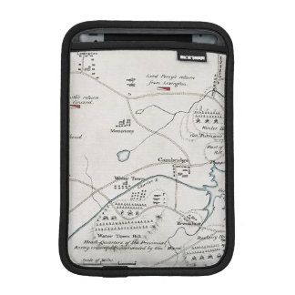 BOSTON-CONCORD MAP, 1775 SLEEVE FOR iPad MINI