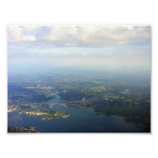 Boston del cielo impresion fotografica