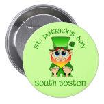 ~ Boston del sur del día de St Patrick Pin