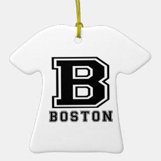 Boston Designs Christmas Ornament