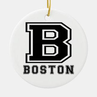Boston Designs Christmas Tree Ornaments
