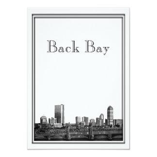 Boston Destination Wedding Back Bay Invitation