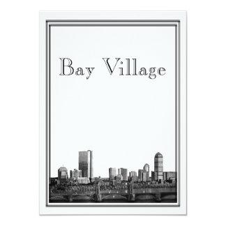 Boston Destination Wedding Bay Village Personalized Invitation