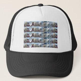 Boston Dish Antenna Internet TV communication hub Trucker Hat