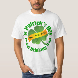 Boston drinking   St Patrick's day T-Shirt