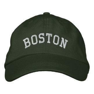 Boston Embroidered Baseball Hat