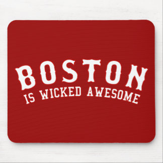 Boston es impresionante travieso tapetes de ratones