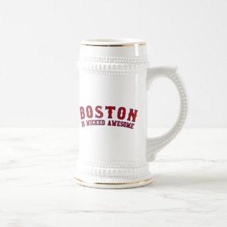 Boston es impresionante travieso tazas de café