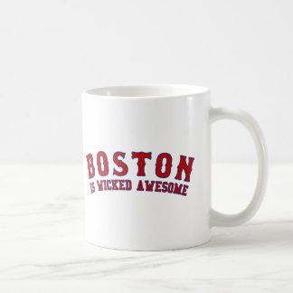 Boston es impresionante travieso tazas