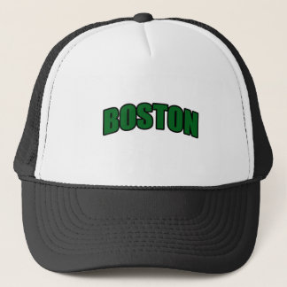 Boston Fan T-Shirt Trucker Hat