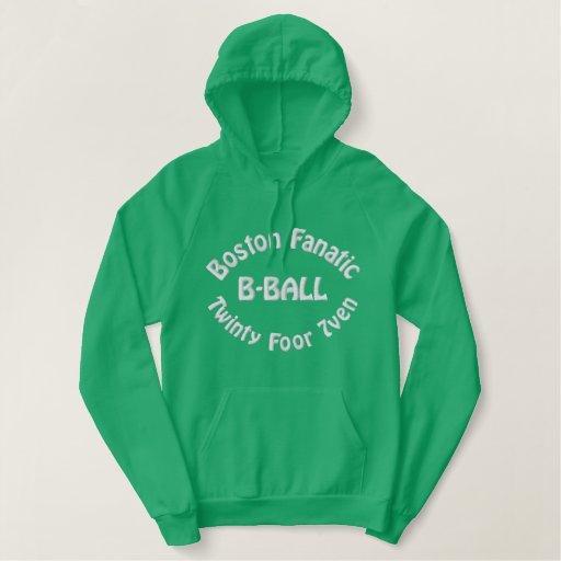 Boston Fanatic Embroidered Hoodie