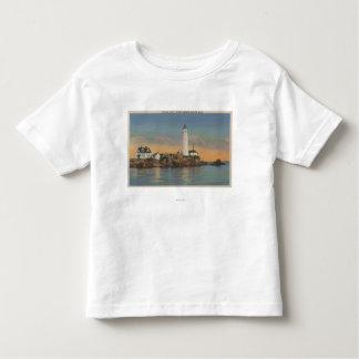 Boston, faro de MABoston en el puerto 2 de Boston Camisas