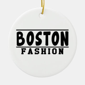 Boston Fashion Designs Christmas Ornaments