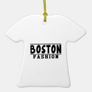 Boston Fashion Designs Christmas Tree Ornaments