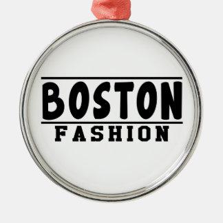 Boston Fashion Designs Ornament