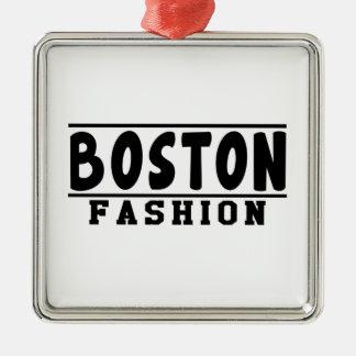 Boston Fashion Designs Ornaments