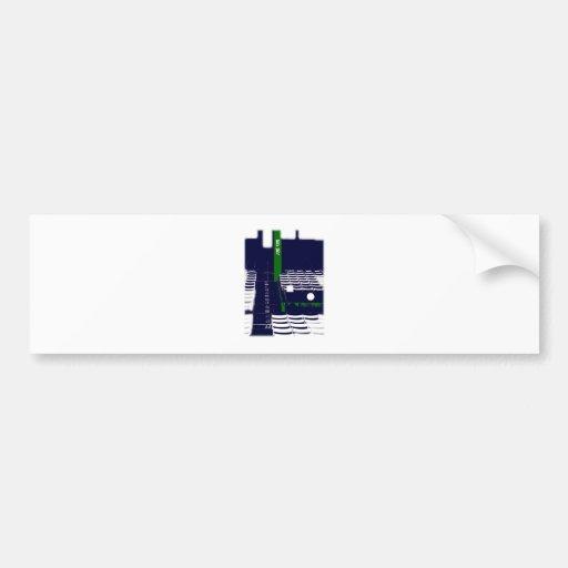 Boston - filas etiqueta de parachoque