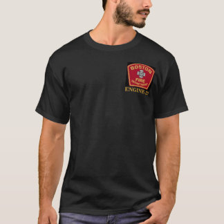 Boston Fire Engine-33 Tee