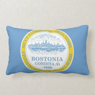 Boston Flag Lumbar Pillow