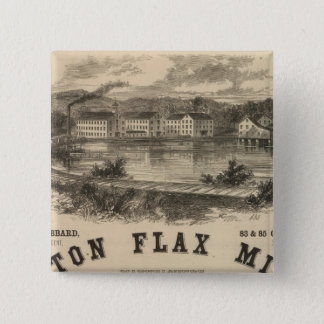 Boston Flax Mills Button