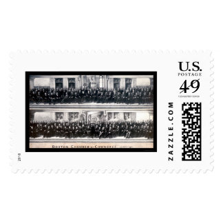 Boston, foto 1896 del comercio del mA Sello Postal