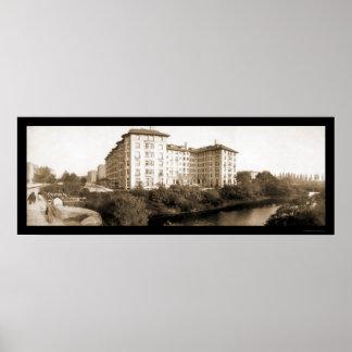 Boston, foto 1903 del hotel del mA Poster
