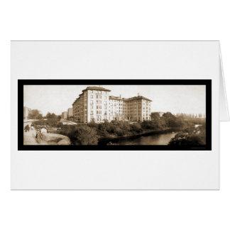 Boston, foto 1903 del hotel del mA Tarjetas