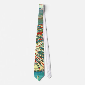 Boston Freight Terminals 1903 Neck Tie
