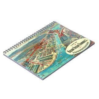 Boston Freight Terminals 1903 Spiral Notebook