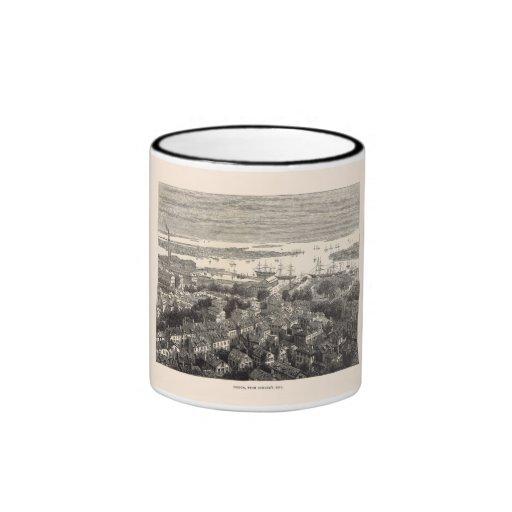 Boston from Bunker's Hill Mug