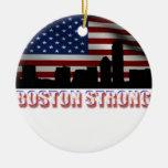 Boston fuerte adorno de navidad