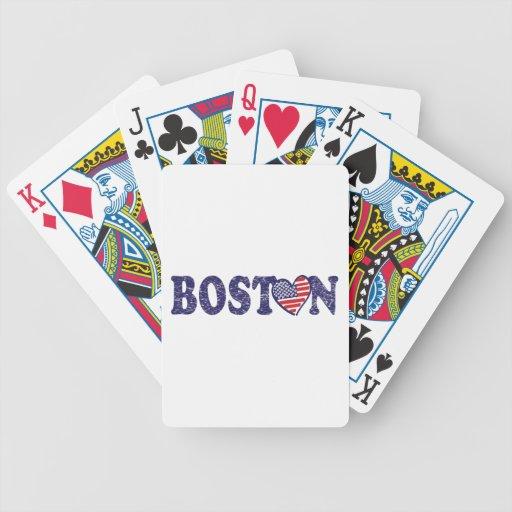 Boston fuerte baraja