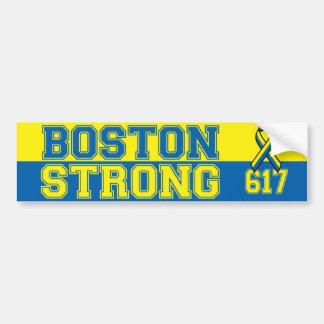 Boston fuerte etiqueta de parachoque