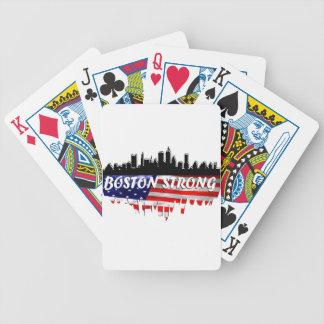 Boston fuerte baraja cartas de poker