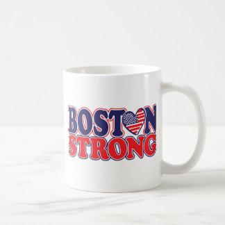 Boston fuerte con el corazón de Amricah Taza Clásica
