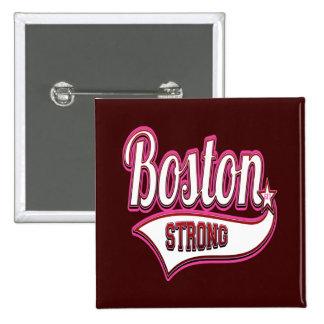Boston fuerte en rosa pins