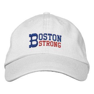 Boston fuerte gorra bordada